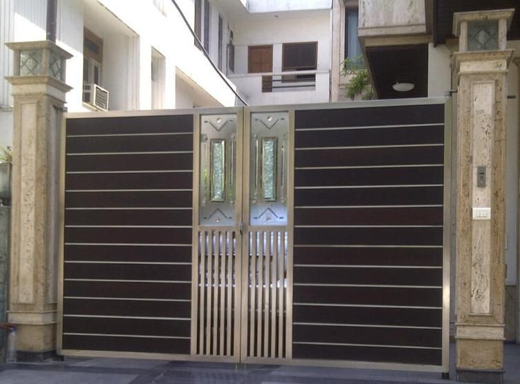 stainless steel gates .ie - Google Search | Iron gate ...