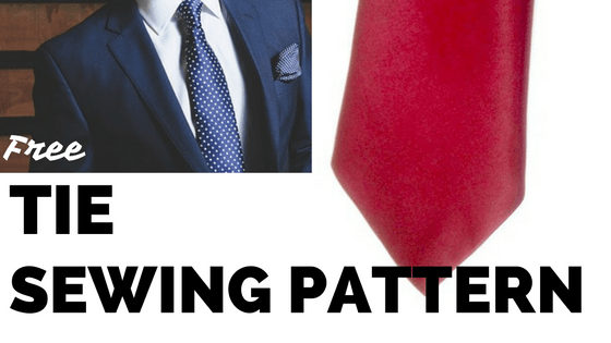 How to Make a TIE - Free DIY pattern & tutorial - Sew Guide | Sewing ...