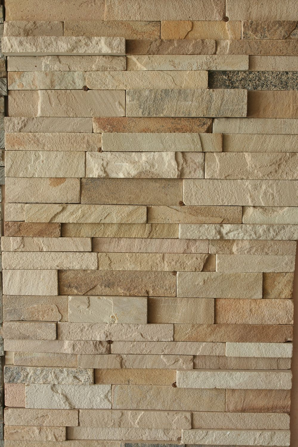 Wooden Cladding Wavy ~ The most extravagant wall cladding of mint sandstone