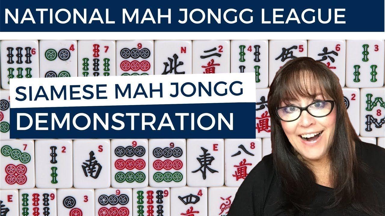 Siamese Mah Jongg Demonstration Mah, Challenging games