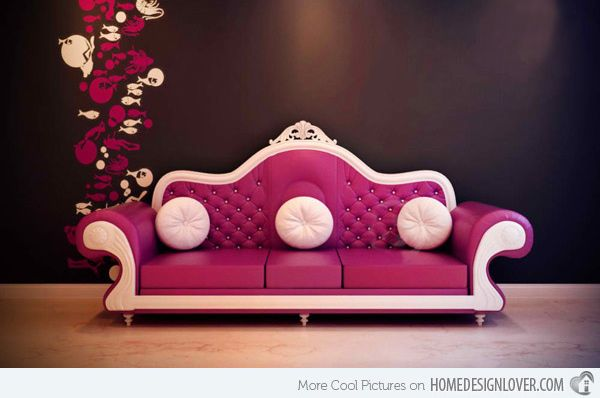 18 Pretty Vintage Sofa and Settee Designs | Settees, Settee sofa and ...