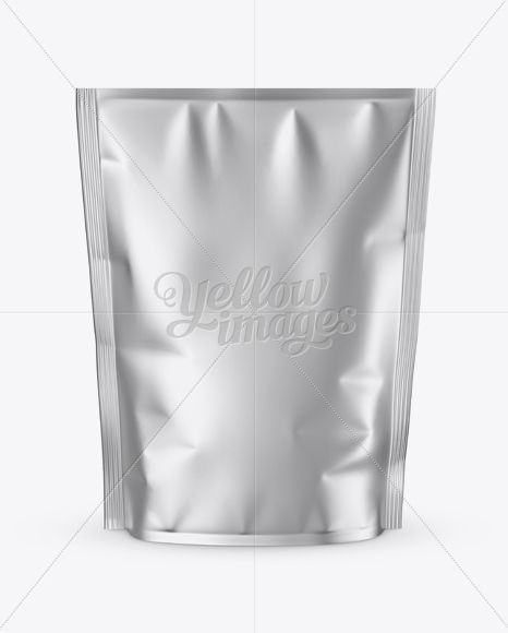 Download Matte Metallic Stand Up Pouch Mockup Front View In Pouch Mockups On Yellow Images Object Mockups Mockup Free Psd Free Packaging Mockup Free Psd Mockups Templates