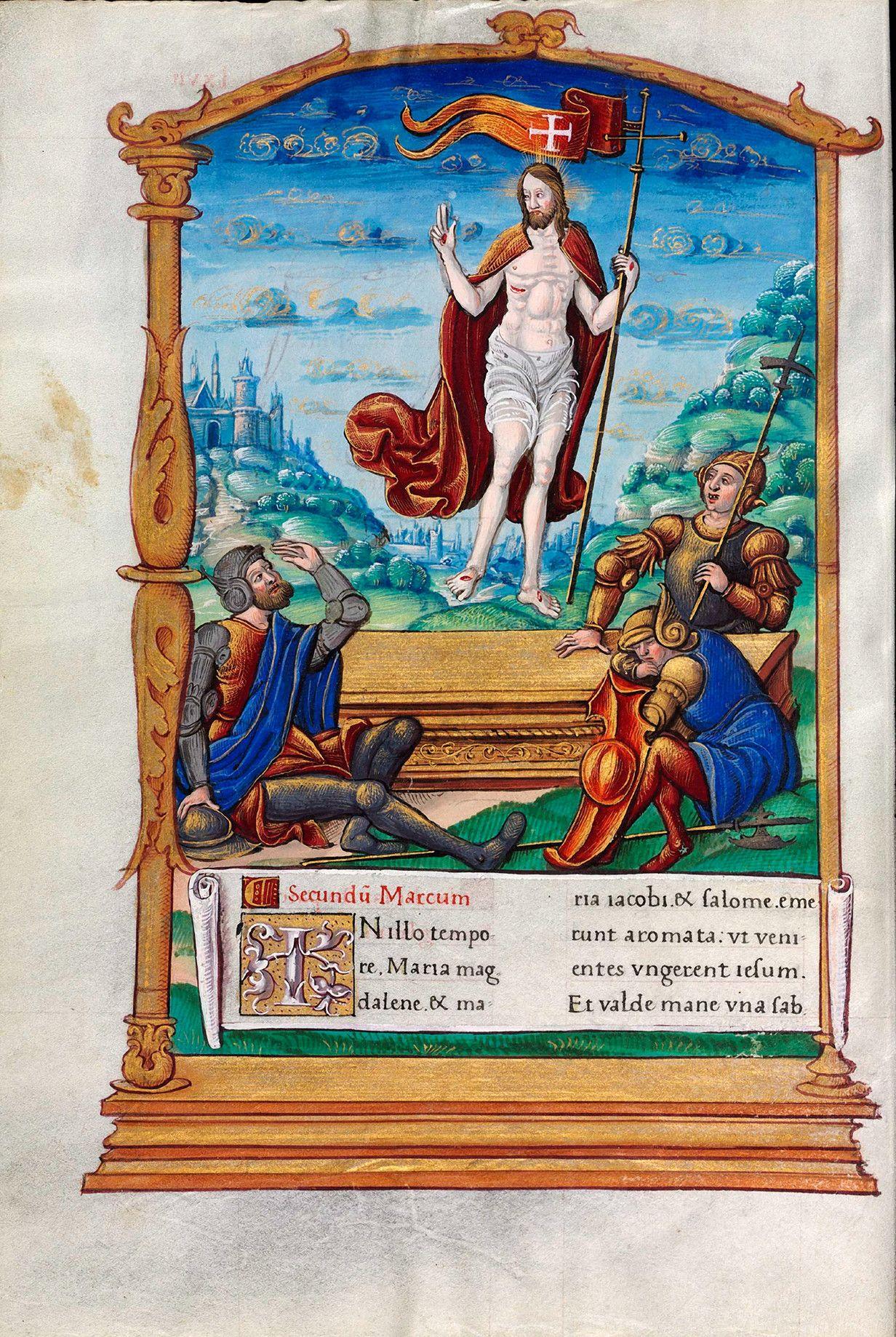 Biblioteca Digital Hispánica - 003-Evangeliario de París para uso de Carlos Duque de Angulema - 1500-1600