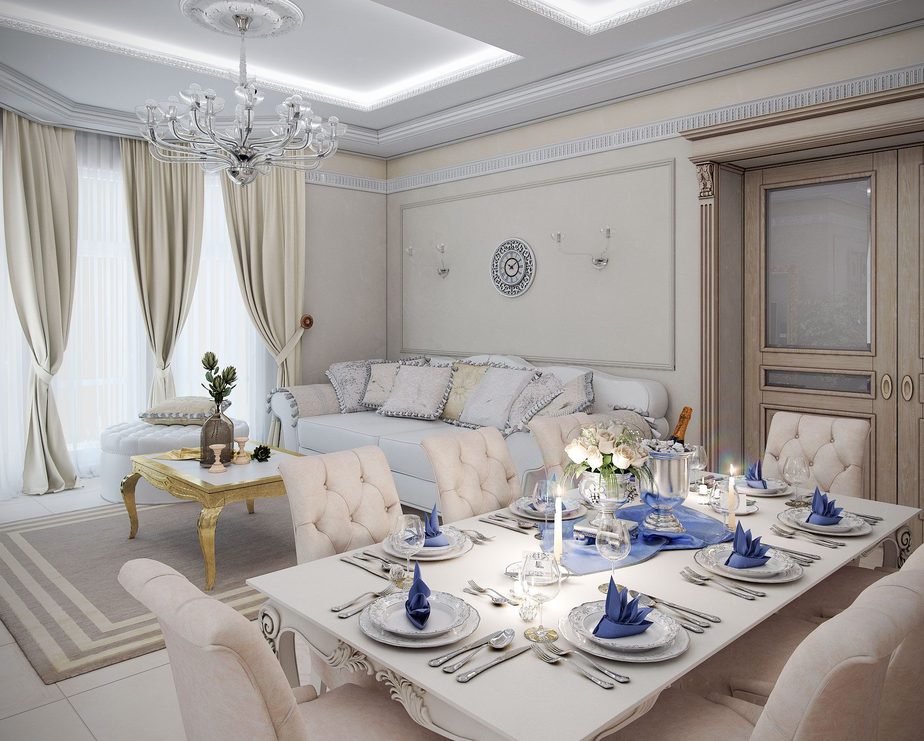 White living room decoration - White Living Room Decoration Classical Living Room White Living Room Dining Room Decor Family Room