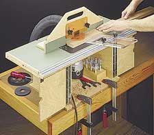 Portable router table woodworking plan router for Diy portable router table