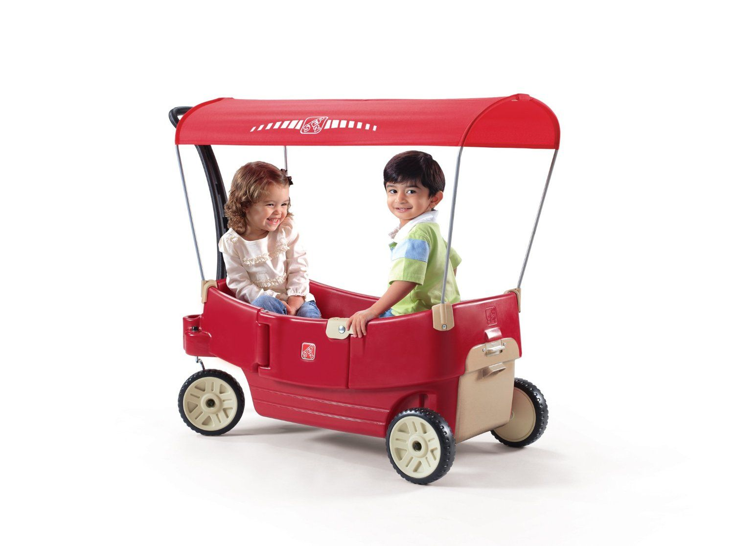 Amazon step2 all around canopy wagon red toys games amazon step2 all around canopy wagon red toys games negle Gallery