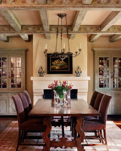16 Absolutely Gorgeous Mediterranean Dining Room Designs: Design Portfolio And Lookbook