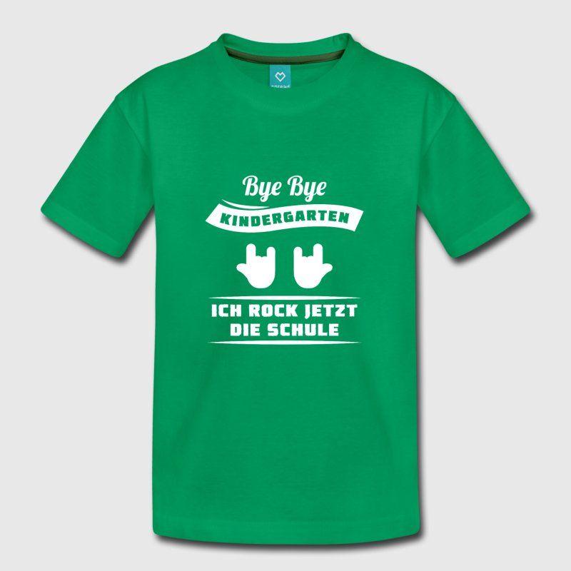 bye bye kindergarten schuleinf hrung 1 klasse t shirts. Black Bedroom Furniture Sets. Home Design Ideas