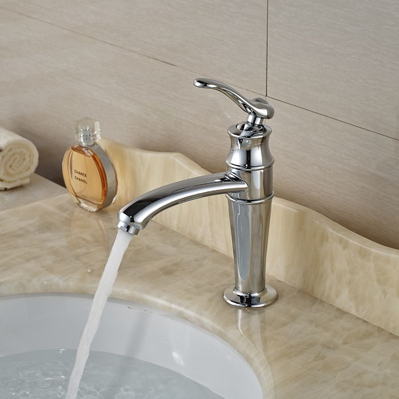 Fashionable Cheap Bathroom Sink Faucet One Handle One Lever Basin ...