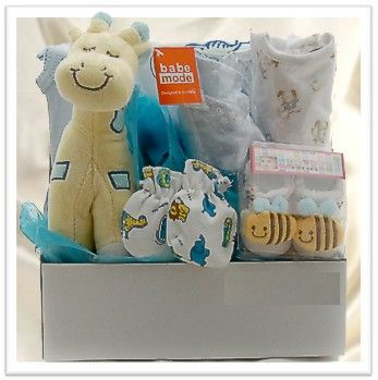 Baby Basket Gift Hamper for Boys - $59