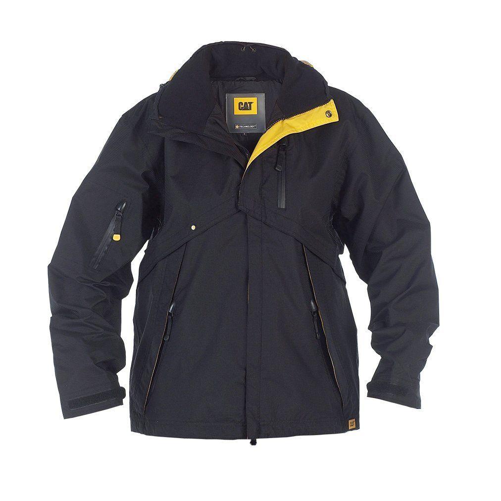 CAT Caterpillar Work Tough Jacket Mens Insulated Work Coat