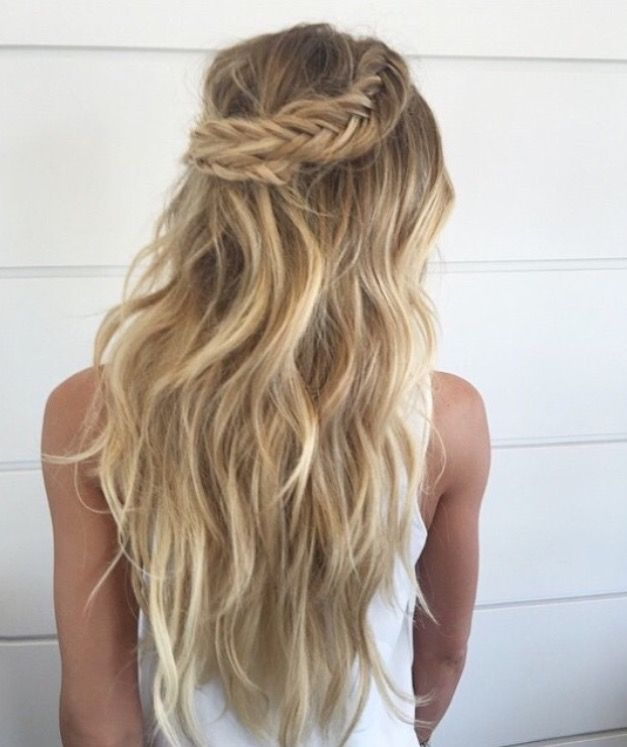 Fishtail Braid Wedding Hairstyles: Hair Styles, Boho