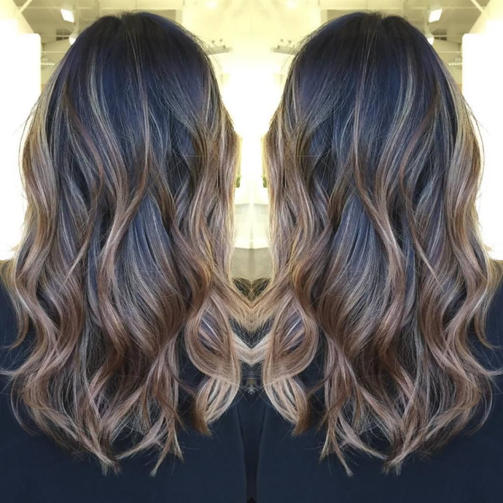 How To Lighten Up Dark Hair With Balayage Hair Colors Pinterest