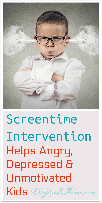 Screentime Intervention Hilft Wutenden Depressiven