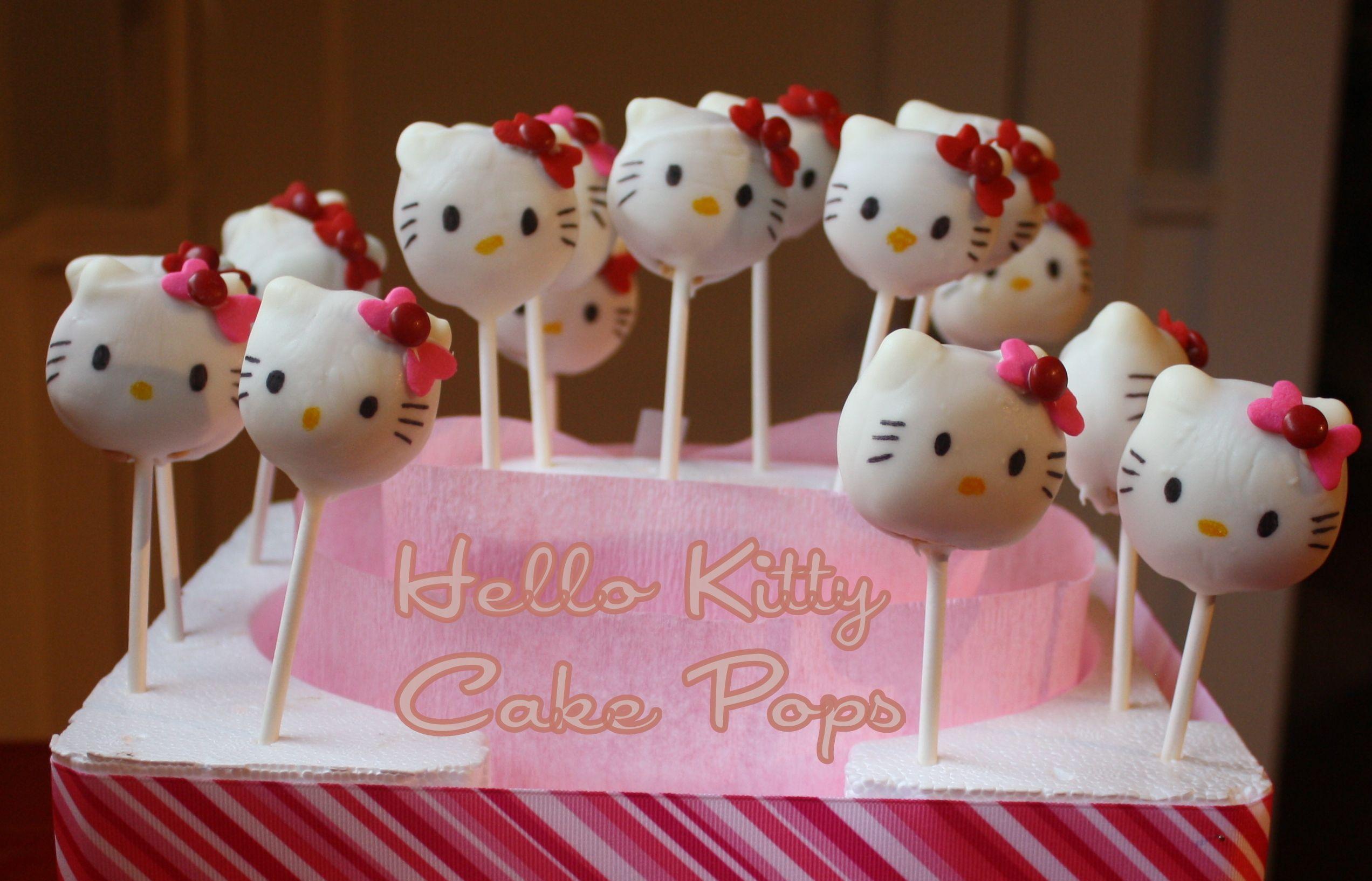 HelloKittyCakePopsjpg 25441634 pixels Kids cakes