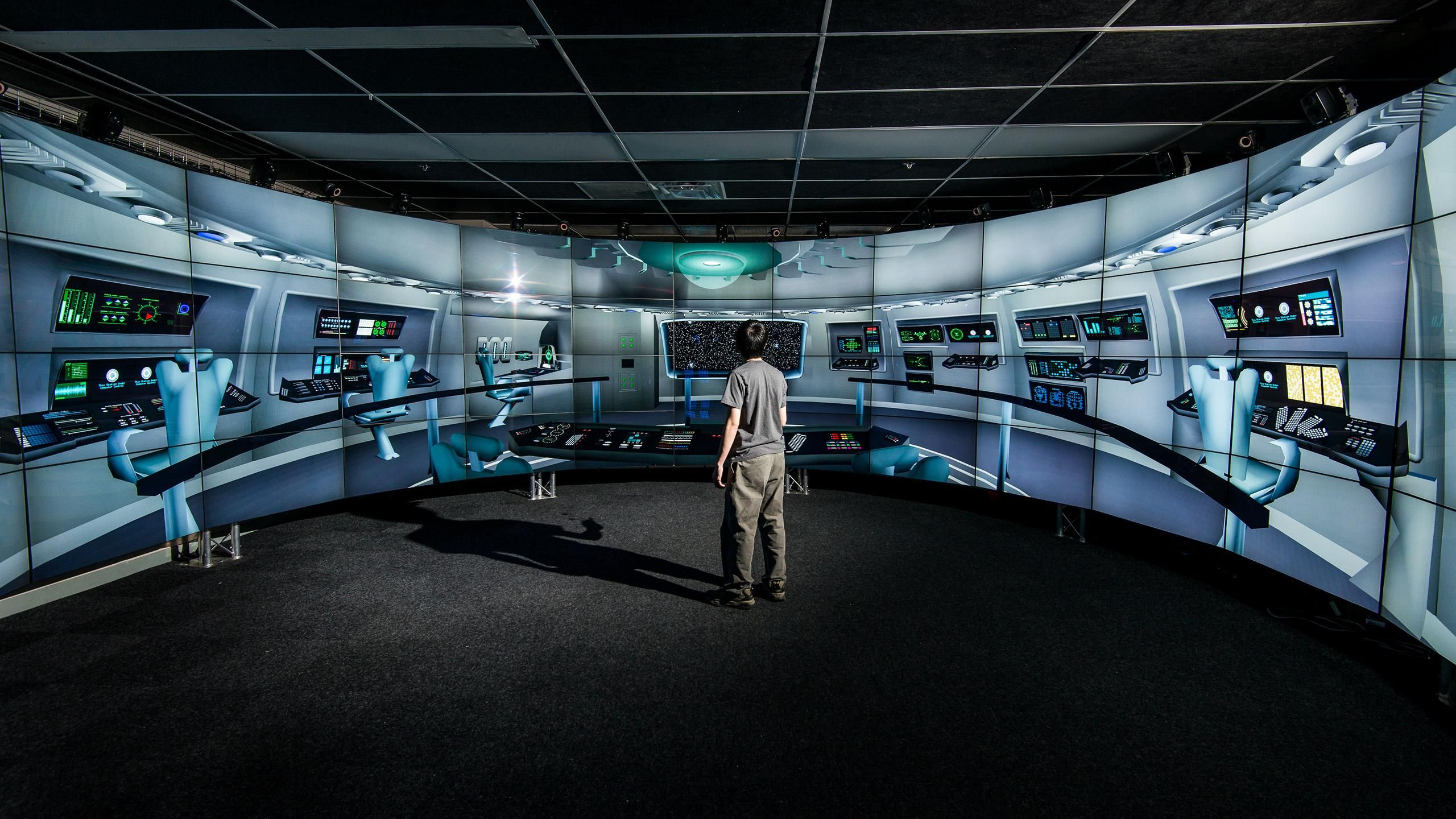 Brown university unveils 3d virtual reality room http for Virtual bedroom