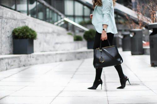 Wearing a Black Dress to work