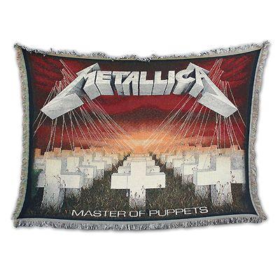 MOP Throw Blanket Metallica Pinterest Metallica Blanket And Gorgeous Metallica Throw Blanket