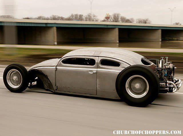 El #Volkswagen Beetle más cool que he visto.