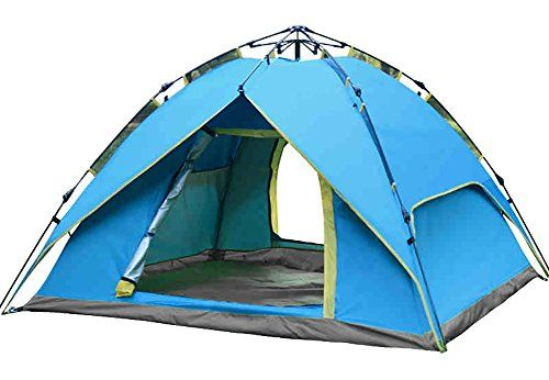 Generic House 4 Perosn Tent Color Blue *** For more information visit image link.  sc 1 st  Pinterest & Generic Smooth Dome 3 Person Tent Color Blue *** Details can be ...