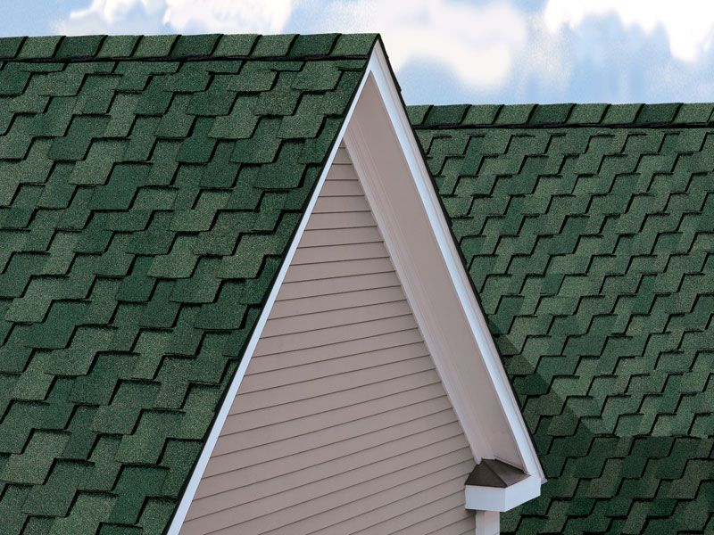 Best Moss Green Shingles From Gaf Roof Shingles Roof Shingle 400 x 300