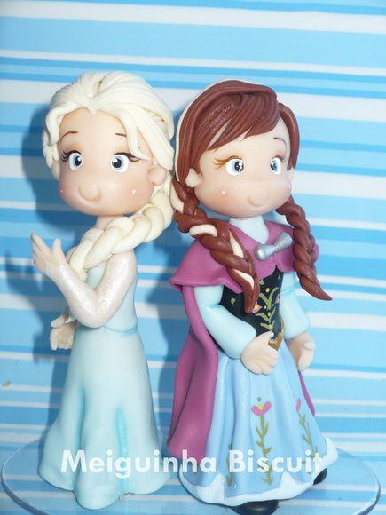 Bonecas Frozen estilo fofinhas, da pra ser personalizado tbm com nome da criança e a vela. Duvidas Consulte R$ 145,00
