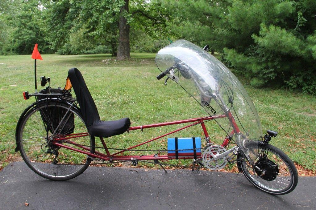 Diy Recumbent Electric Bike picture