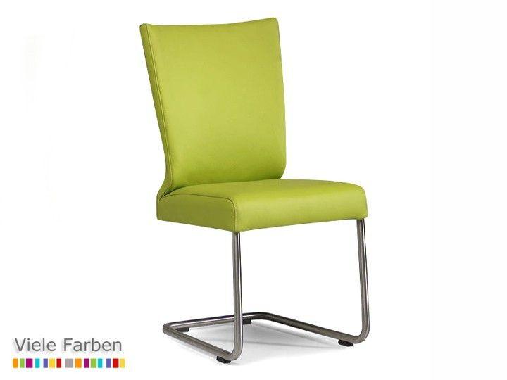 Konferenzstuhl  SCOTT #Stuhl #Esszimmerstuhl #Konferenzstuhl #Leder & #Edelstahl ...