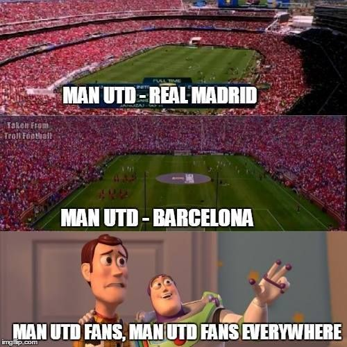 Manchester City Jokes About United