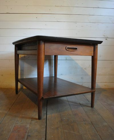 image result for mid century modern end table | furniture