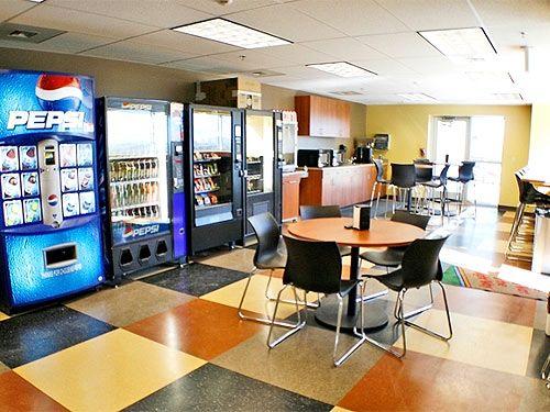 4 Ways To Make Money In The Breakroom Break Room Office Break Room Workplace Design