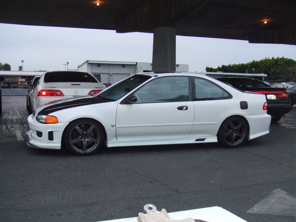 1993 Honda Civic Ex Coupe 2d 1 Sick La Ca Owned By