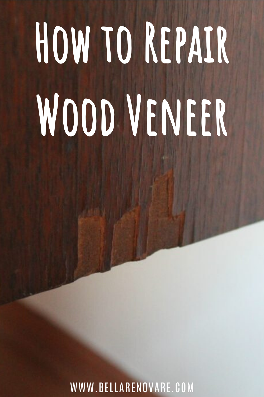 Get This Guide For How To Repair Wood Veneer In 2020 Wood Veneer Furniture Painting Tutorial Painting Veneer Furniture