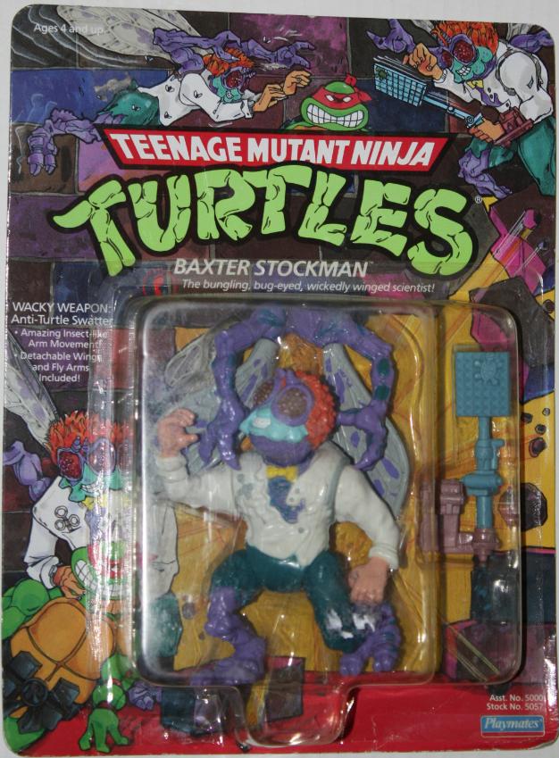 1989 ORIGINALE *** Baxter Stockman *** Teenage Mutant Ninja Turtles TMNT