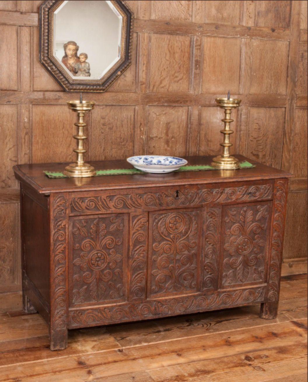 Bonito Muebles Antiguos Devon Ideas Ornamento Elaboración Festooning ...