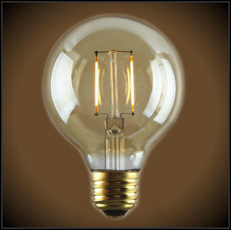 Nostalgic Led Filament Edison Bulb 2 Watt G25 Globe Edison Light Bulbs Light Bulb Edison Lighting