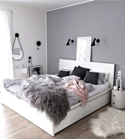 Teen Bedroom Makeover Ideas is part of Gray bedroom Rug - or it's a really SMALL bedroom  Below are some cheap ways to decorate a teenage girl's bedroom that I LOVE! A teens bedroom is their sanctuary, where …
