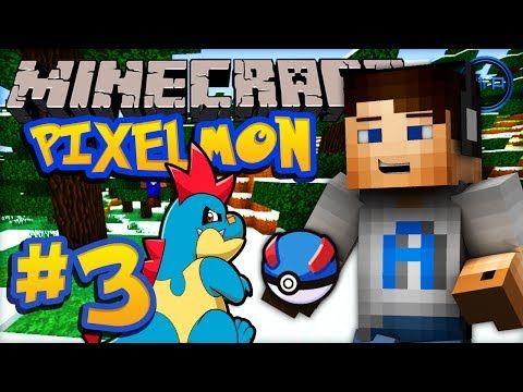 Minecraft PIXELMON - Episode #3 w/ Ali-A! -