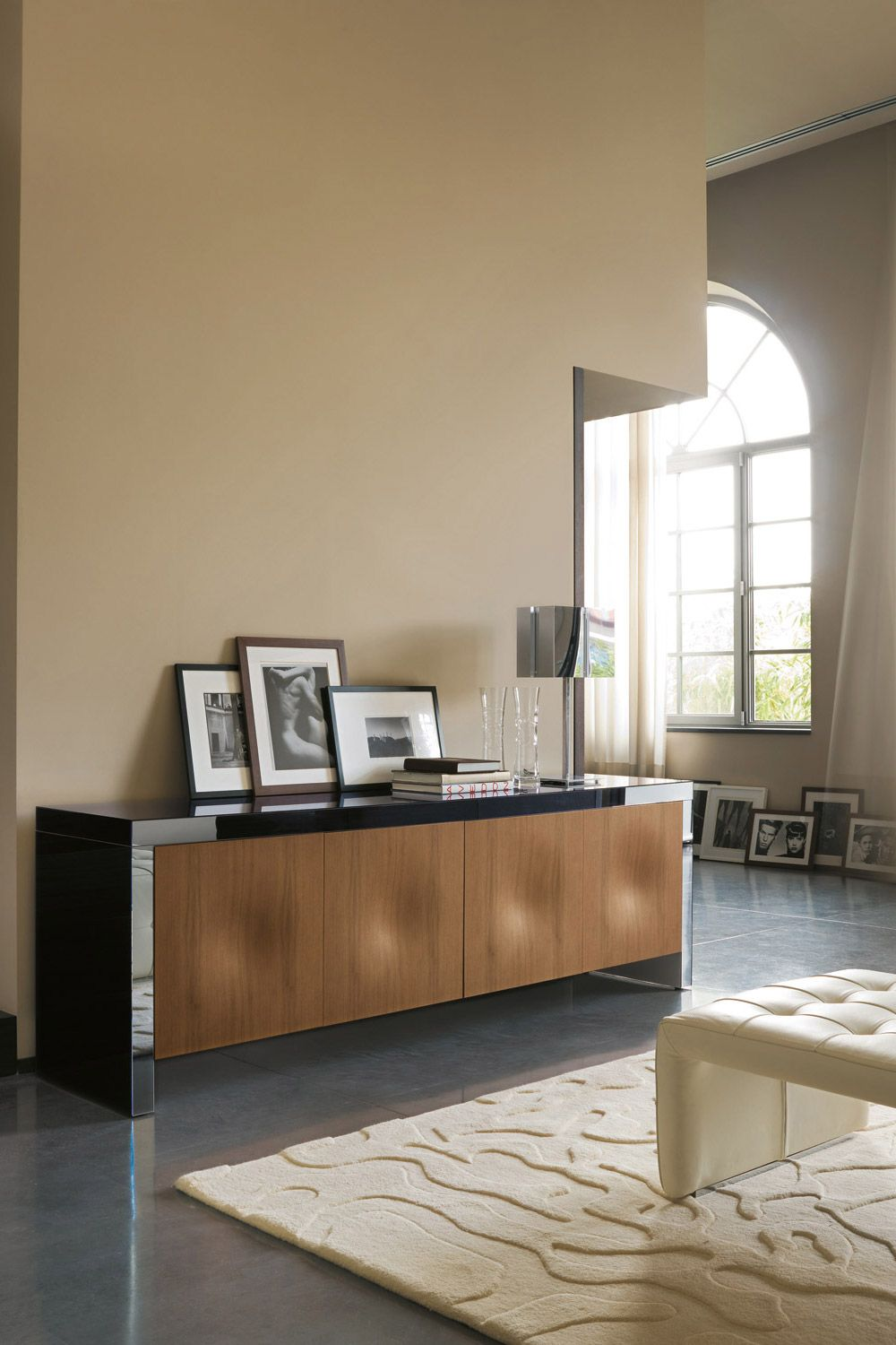 Furniture meubles porada s r l from italy sleek sideboard