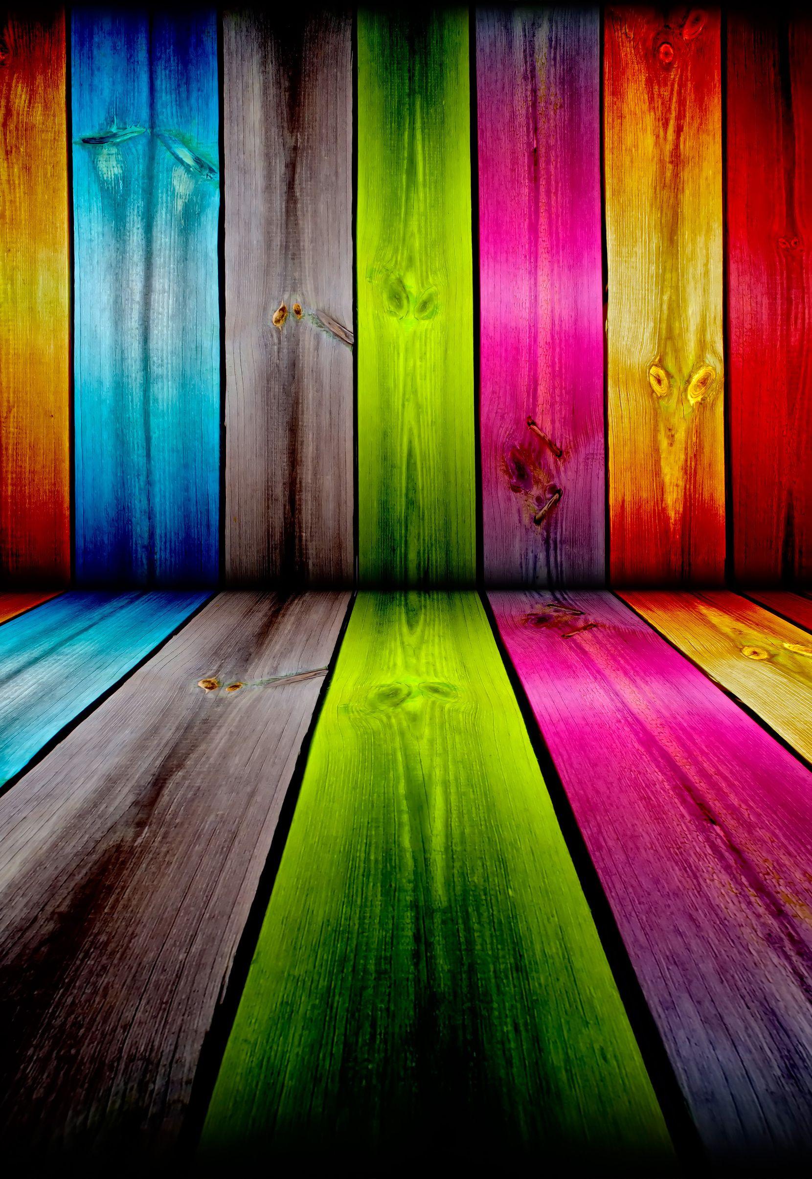 Rainbow Wall Wood Neon Paint | GAY COLORS | Pinterest ...