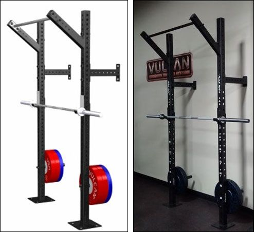 Folding wall mounted racks rigs buying guide garage gym