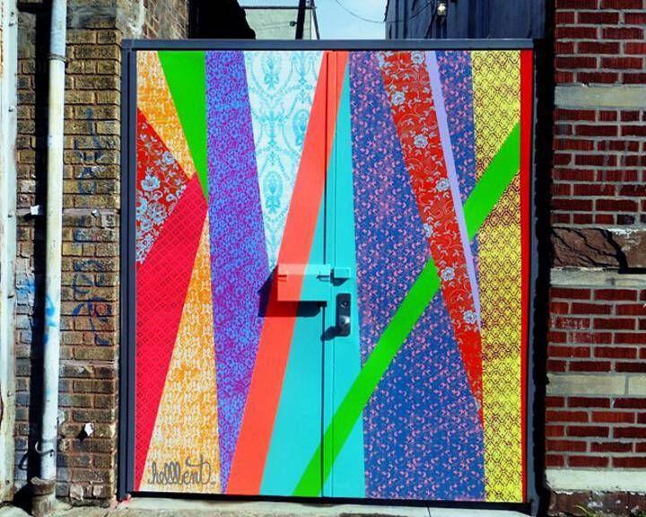 Hellbent Street Art On Brooklyn Door Hellbent At Mighty Tanaka And On NYC  Streets