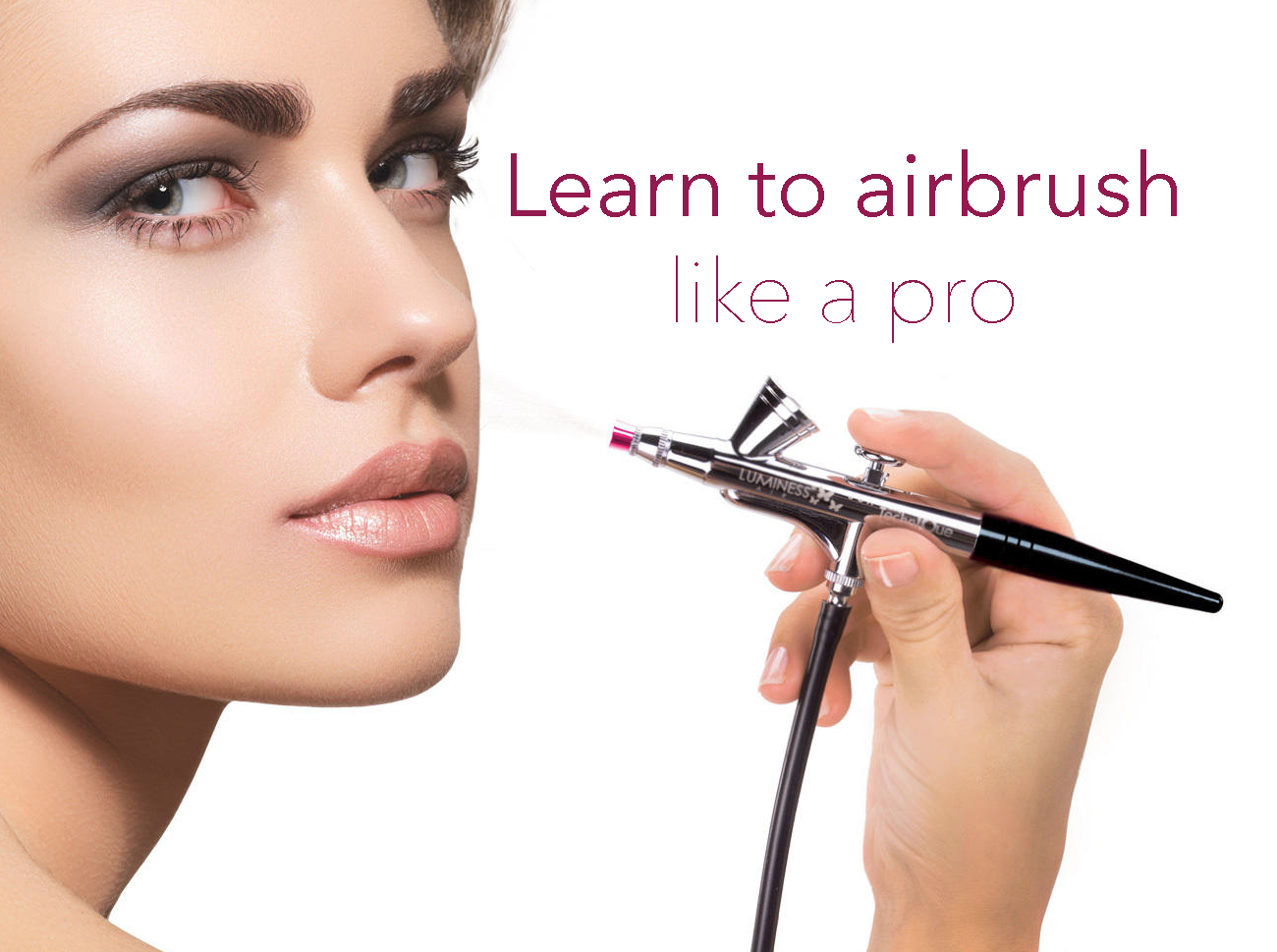 I've always wanted to learn how to airbrush but it looks