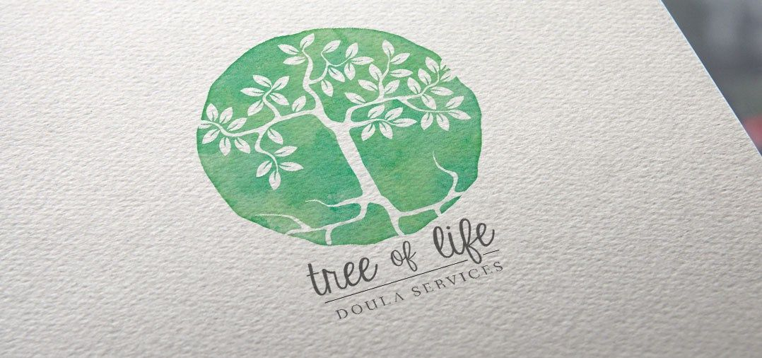 Project Highlight: tree of life doula services logo