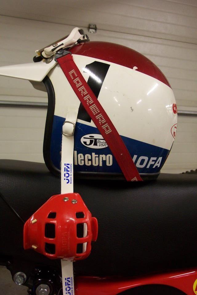 Vintage Electro Helmet Carrera Goggles Joffa Mouthguard