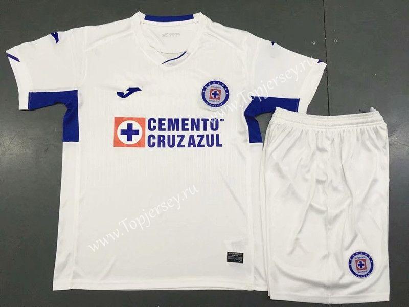 bcb63012c78 2019-2020 Cruz Azul Away White Soccer Uniform -AY | 03.07 new ...