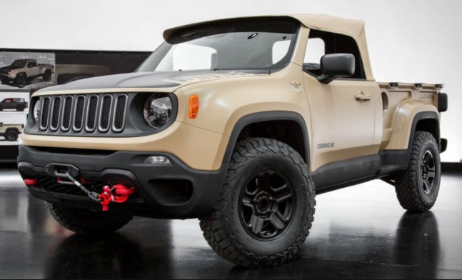2018 Jeep Comanche Colors Release Date Redesign Price 2018 Jeep