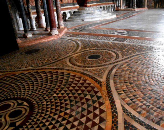 Susies Heartpathblog Floor Medallion Mosaic Flooring Mosaic