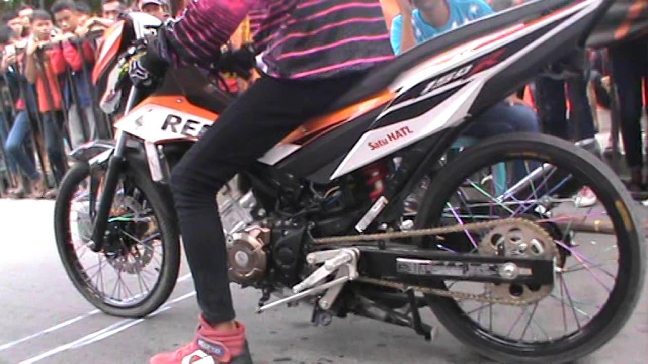 Dragbike Ngawi Jawa Timur Sangar Honda Sonic Ban Mumbul