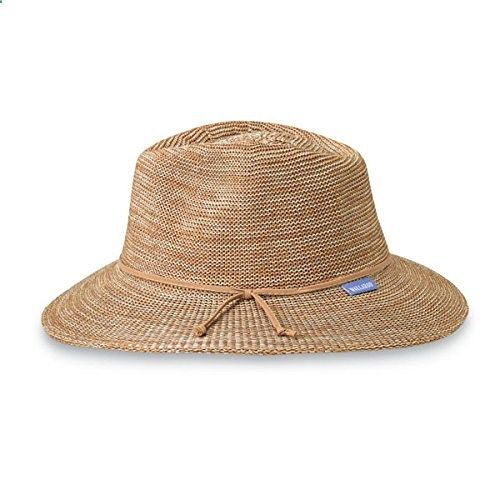 a456b88a5 Wallaroo Women's Victoria Sun Hat - Lightweight Washable Poly-Straw ...
